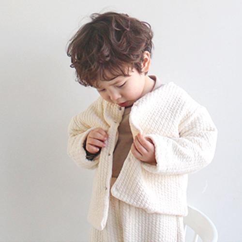韓国子供服ベビーカーディガン