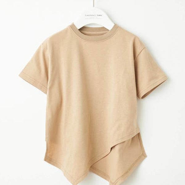キッズ無地Tシャツ