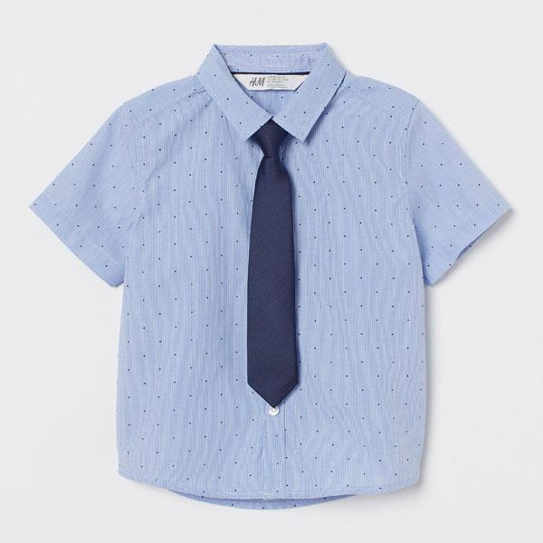 男の子フォーマルシャツ