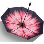折りたたみ傘 日傘 晴雨兼用 レディース 大きい 丈夫 折りたたみ 遮光 uvカット 夏 雨 遮熱…