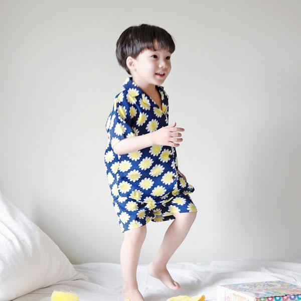 夏用キッズパジャマ