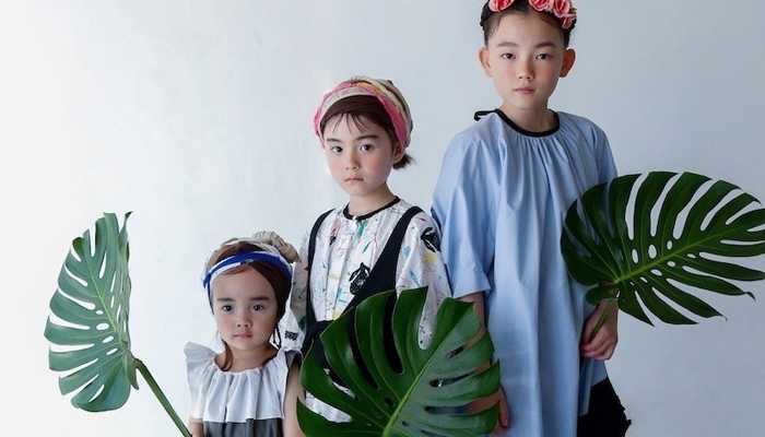 150cmのナチュラル系子供服ブランド