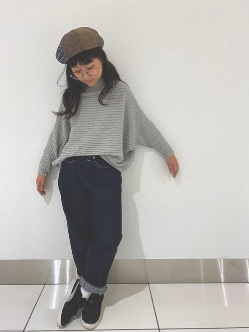 小学生通学服秋コーデ