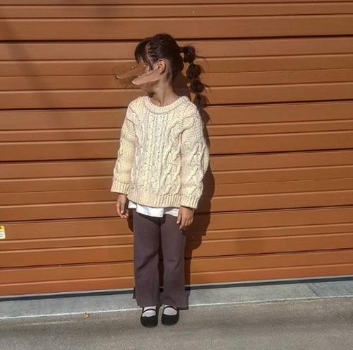 小学生女の子通学服コーデ