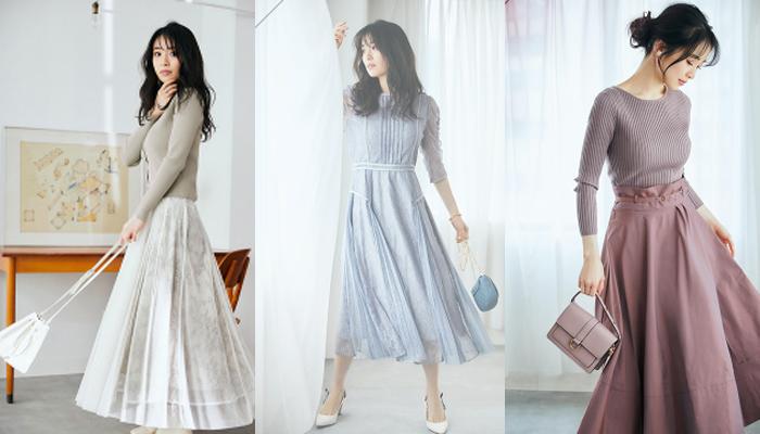 40代きれいめファッションレディース