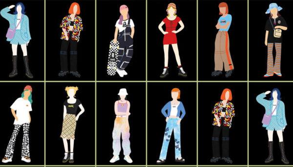 低身長女子ストリート系ファッション