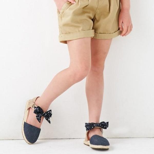 女の子用ショートパンツ