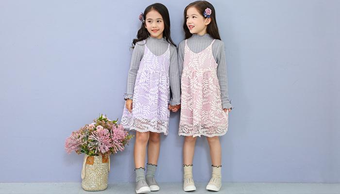 低学年中学年小学生女の子子供服