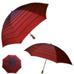 折りたたみ傘 折り畳み傘 レディース 「甲州織グラデーションボーダー」雨傘 2段折 日本製 <55…