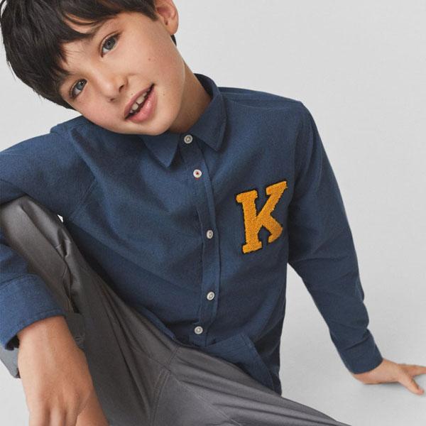 男の子カジュアルシャツ