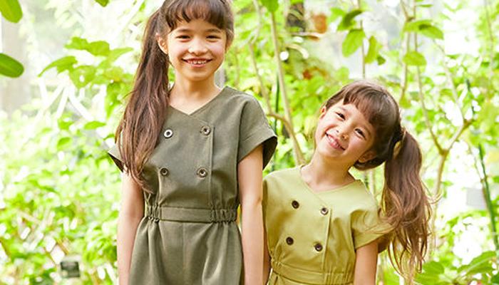 シンプル子供服ブランド