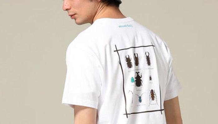 速乾アウトドアブランドtシャツ