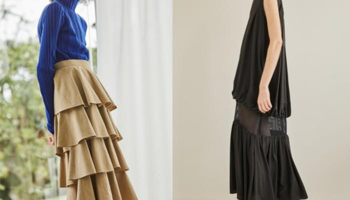 変わったデザイン個性的スカート