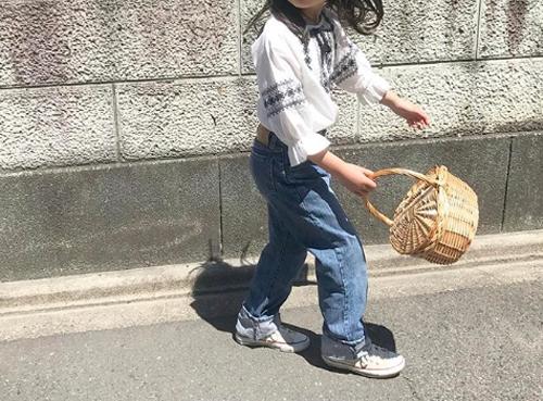 小学生女の子通学服夏コーデ