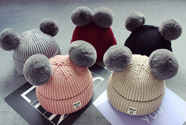 男の子ベビー帽子