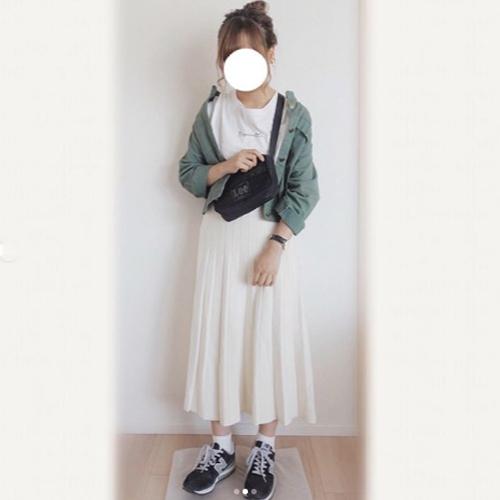女子中学生秋コーデ