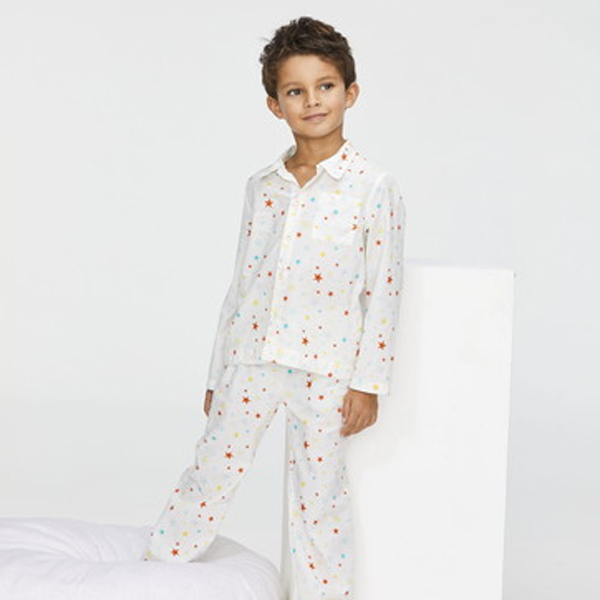 前開きパジャマ
